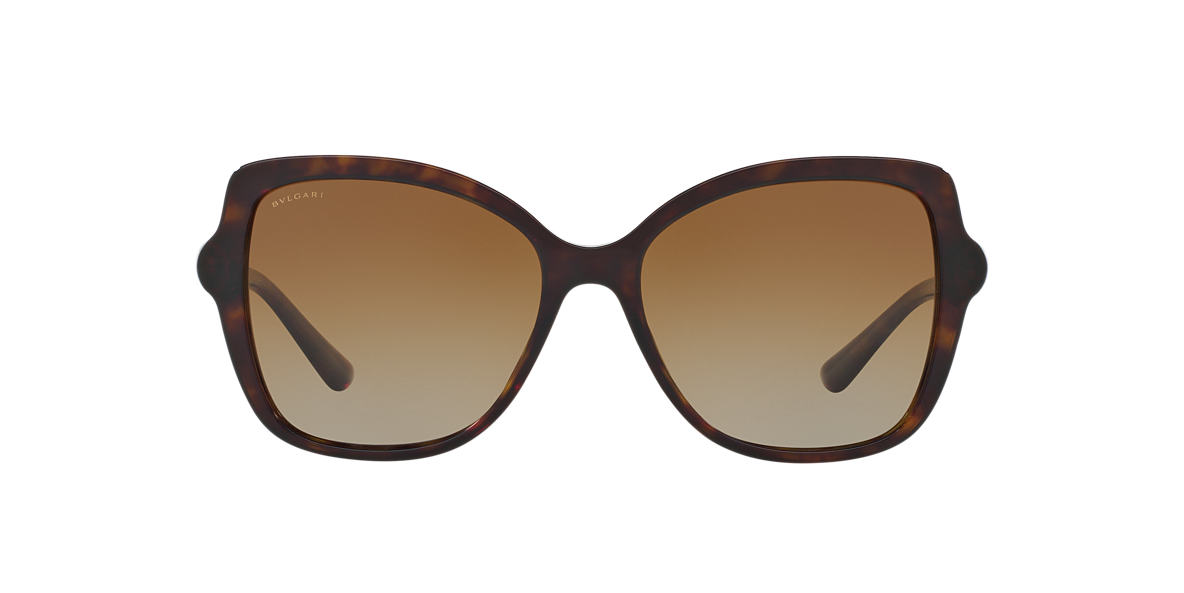 BVLGARI SUN Brown BV8174B 56 Brown polarized lenses 56mm