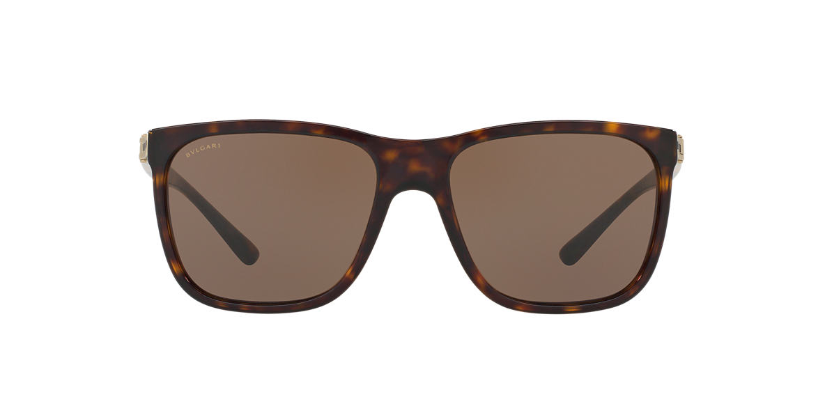 BVLGARI Tortoise BV7027 Brown lenses 57mm