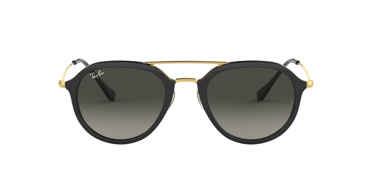 RAY-BAN Black RB4253 53 Grey lenses 53mm