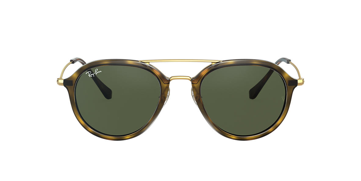 RAY-BAN Tortoise RB4253 50 Green lenses 50mm