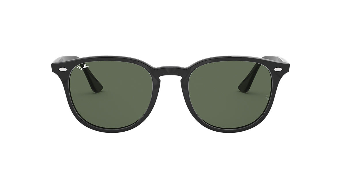 RAY-BAN Black RB4259 51 Green lenses 51mm