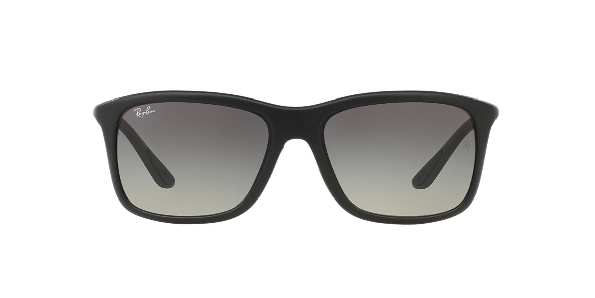 RAY-BAN Black Matte RB8352 57 Grey lenses 57mm