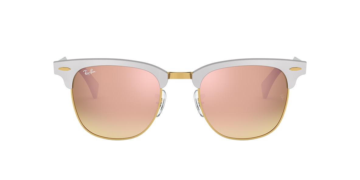 RAY-BAN Silver RB3507 Bronze lenses 51mm