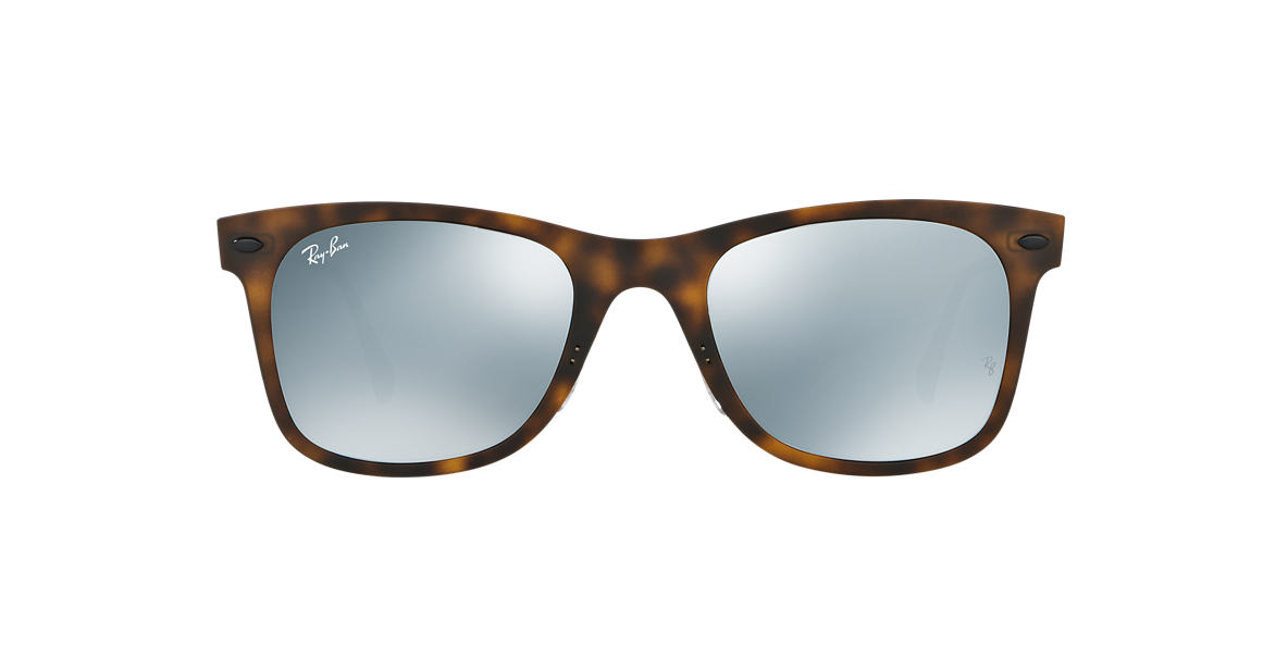 RAY-BAN Tortoise Matte RB4210 50 LIGHT RAY Grey lenses 50mm