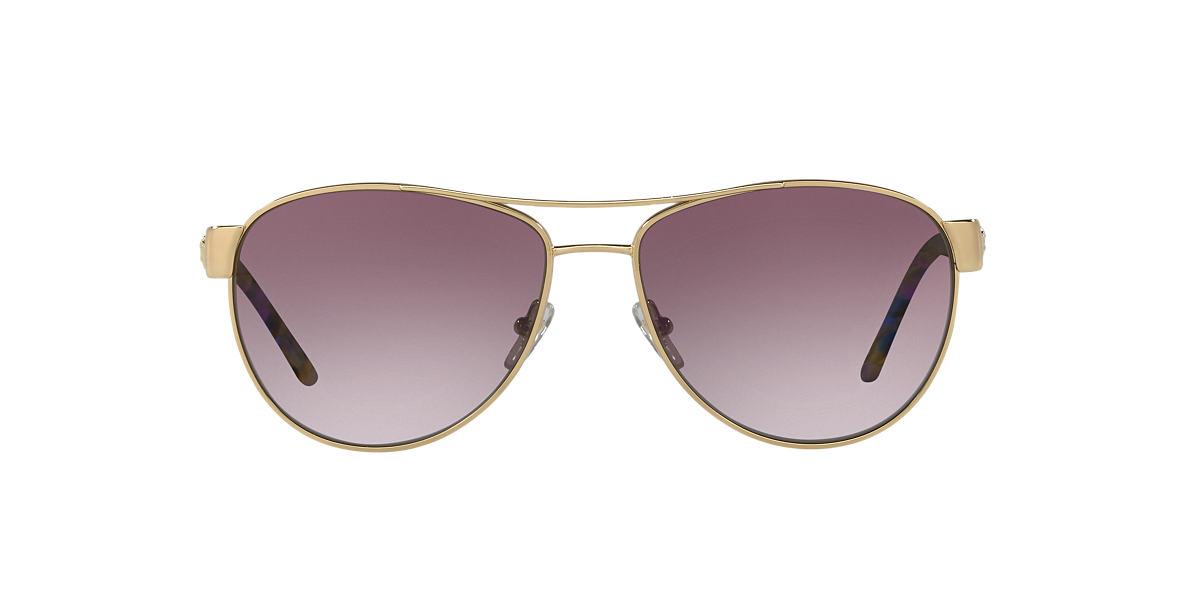 VERSACE Gold VE2145 Purple lenses 58mm