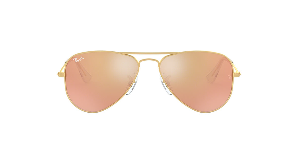 RAY-BAN CHILDRENS Gold Matte RJ9506S  lenses 50mm