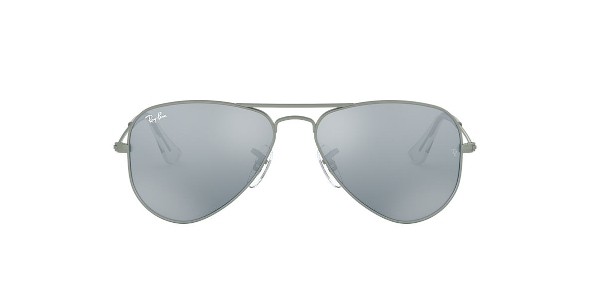 RAY-BAN CHILDRENS Gunmetal Matte RJ9506S Grey lenses 50mm