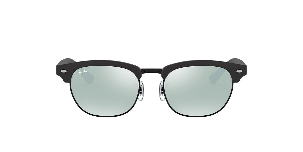 RAY-BAN CHILDRENS Black Matte RJ9050S Grey lenses 45mm