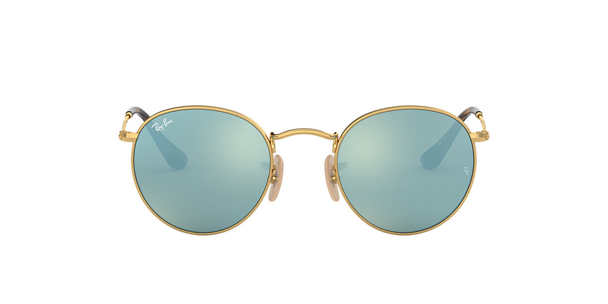 RAY-BAN Gold RB3447N Grey lenses 50mm