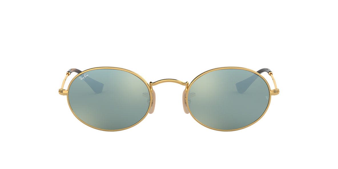 RAY-BAN Gold RB3547N 51 Grey lenses 51mm