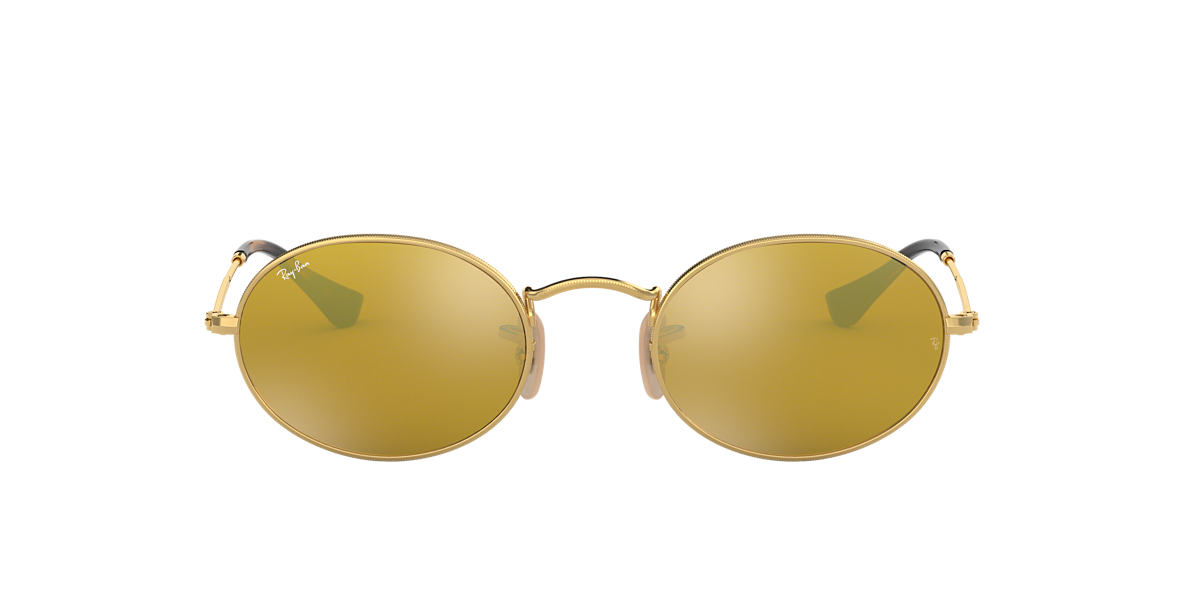 RAY-BAN Gold RB3547N 51 Gold lenses 51mm
