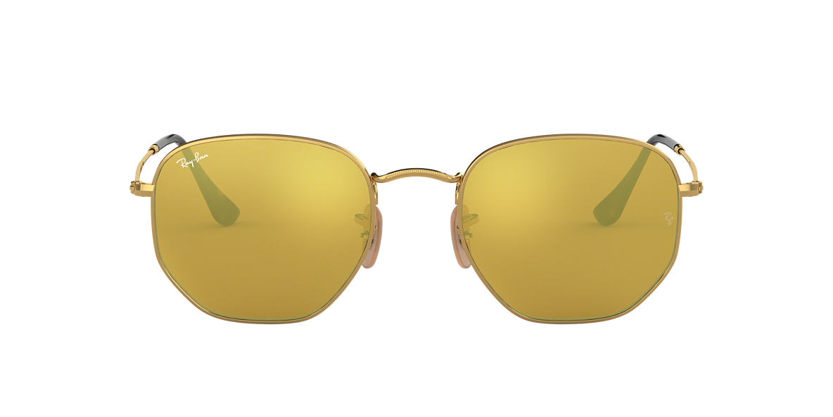 RAY-BAN Gold RB3548N 48 Gold lenses 48mm