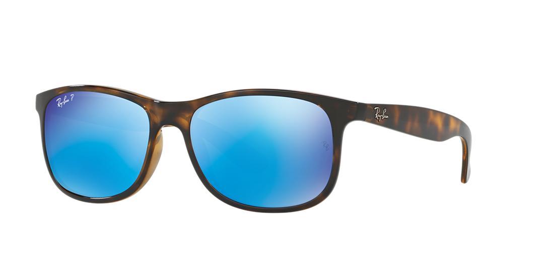 da46e5def36 Ray-Ban Rb4202f Tortoise Rectangle Sunglasses