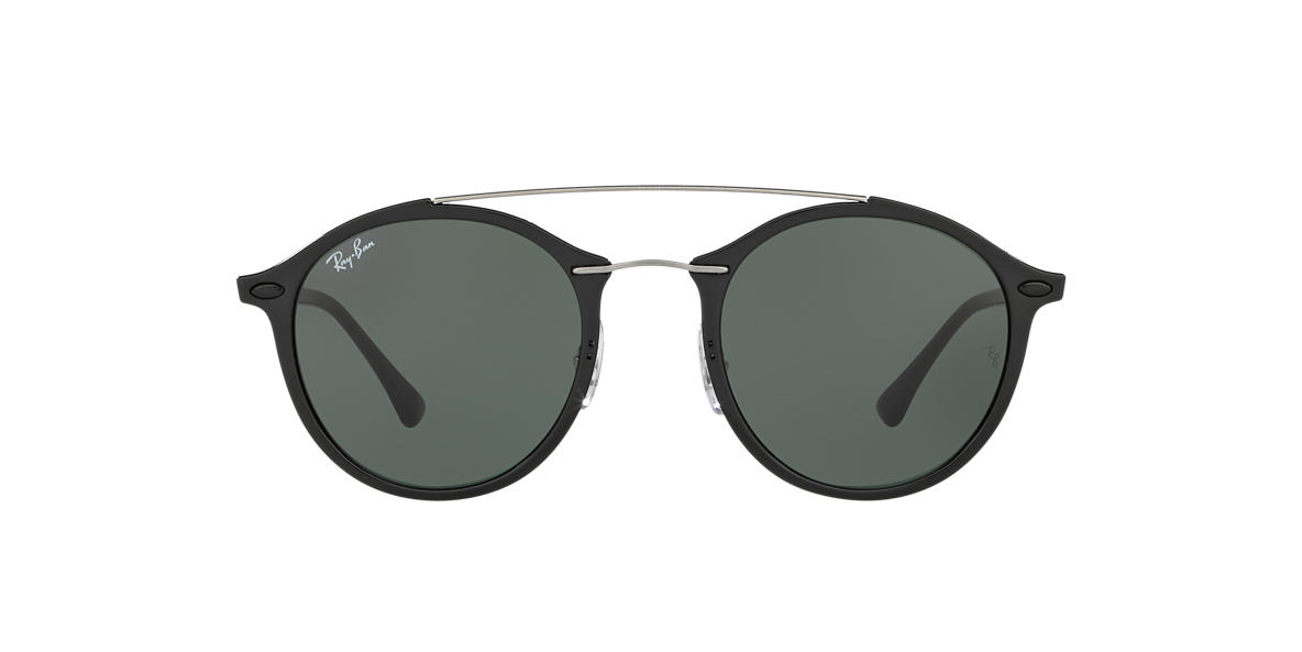 RAY-BAN Black RB4266 49 Green lenses 49mm