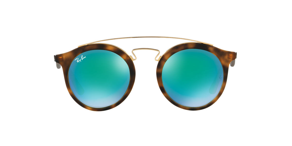 RAY-BAN Tortoise RB4256 49 Green lenses 49mm