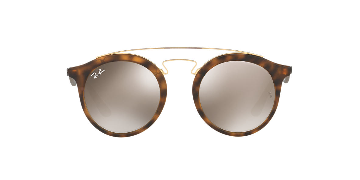 RAY-BAN Tortoise Matte RB4256 49 Gold lenses 49mm