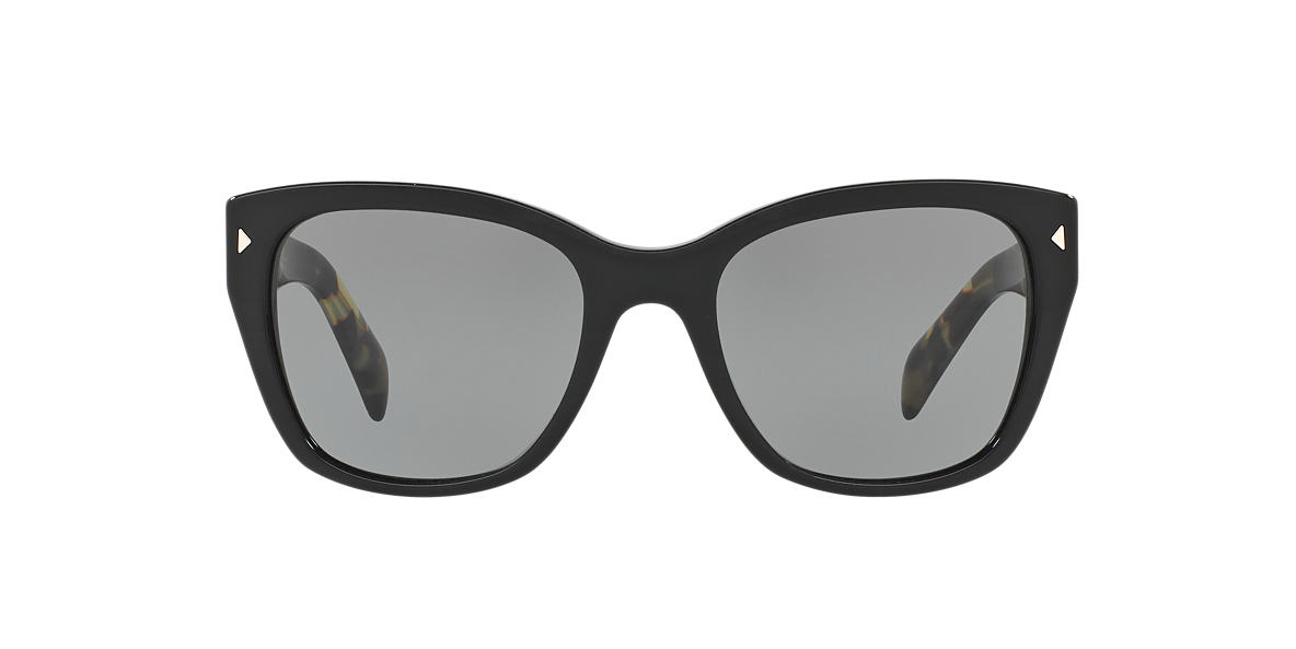 PRADA Black PR 09SS Grey lenses 54mm