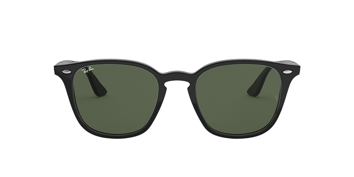 RAY-BAN Black RB4258 50 Green lenses 50mm