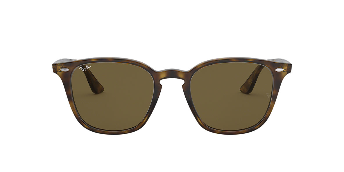 RAY-BAN Tortoise RB4258 50 Brown lenses 50mm