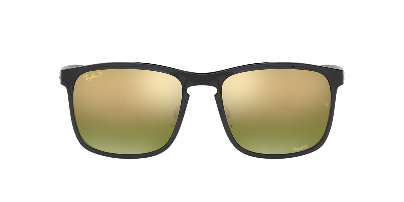 Ray ban sunglasses sale new zealand - Ray Ban Silver Rb4264 Gold Polarised Lenses 58mm