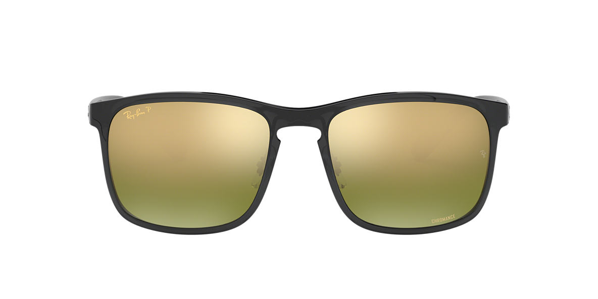 RAY-BAN Grey RB4264 58 Green polarized lenses 58mm