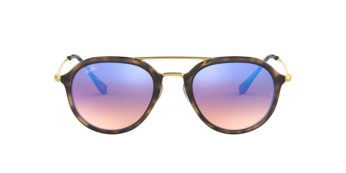 RAY-BAN Tortoise RB4253 53 Blue lenses 53mm