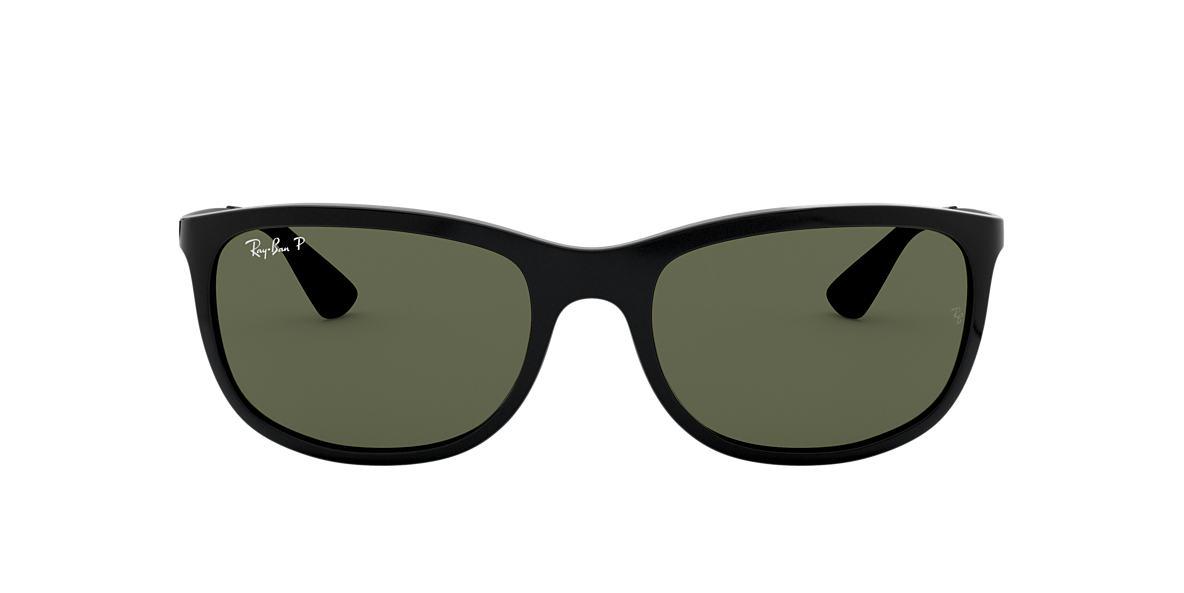 RAY-BAN Black RB4267 Green polarised lenses 59mm