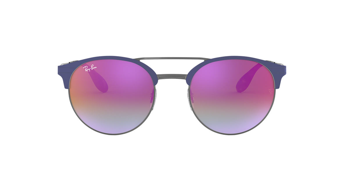 RAY-BAN Silver RB3545 Purple lenses 54mm