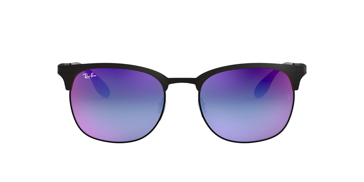 RAY-BAN Black RB3538 Blue lenses 53mm
