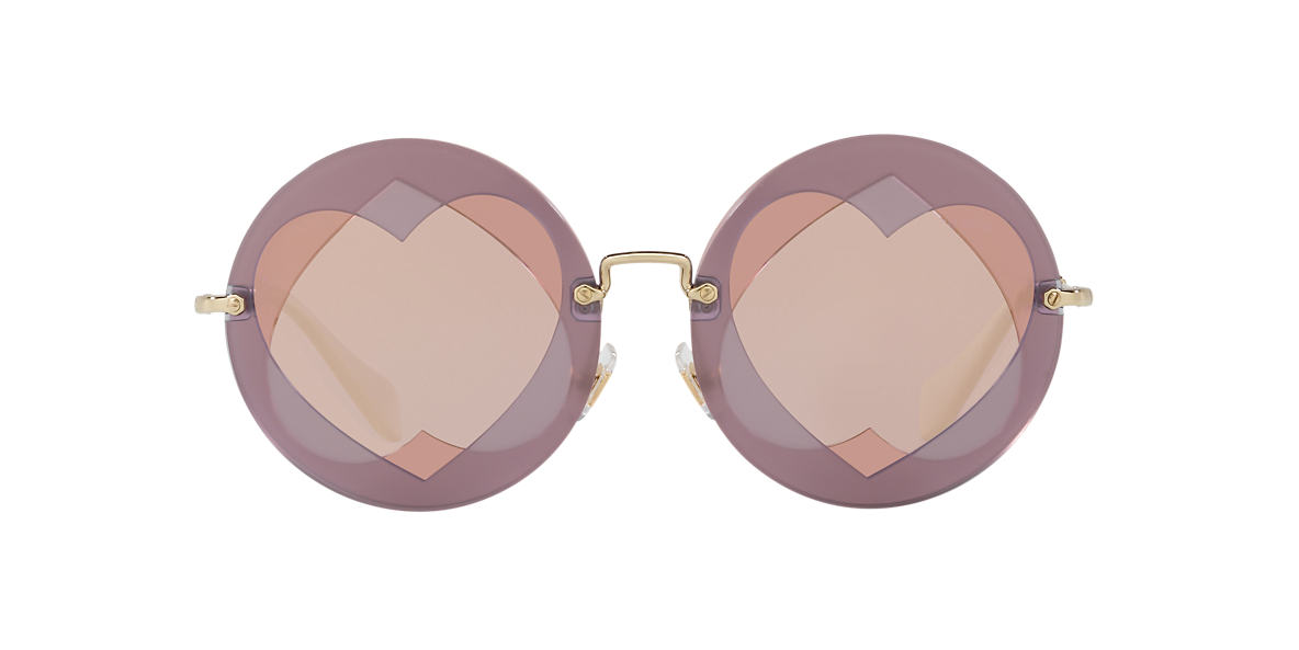 MIU MIU Purple MU 01SS 62  lenses 62mm