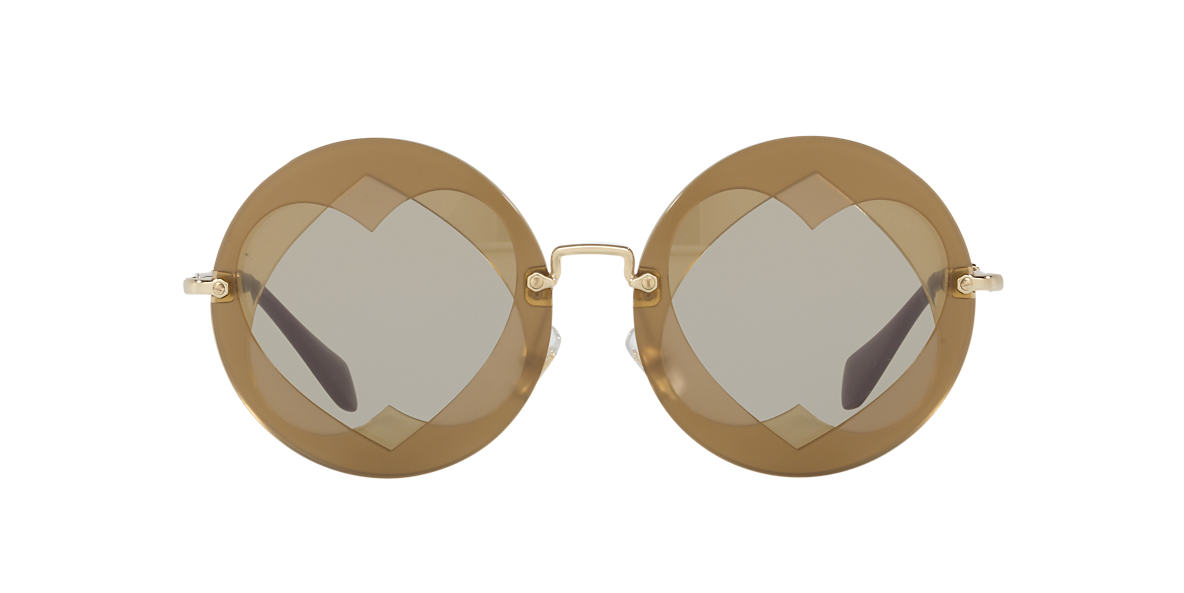 MIU MIU Brown MU 01SS 62 Brown lenses 62mm