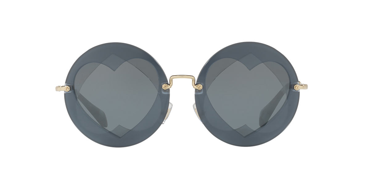 MIU MIU Grey MU 01SS 62 Grey lenses 62mm