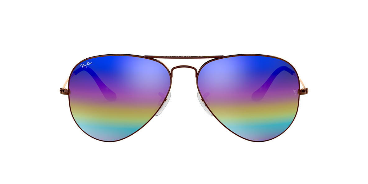 Ray Ban Rb3025 58 Original Aviator Rainbow 58 Multicolor