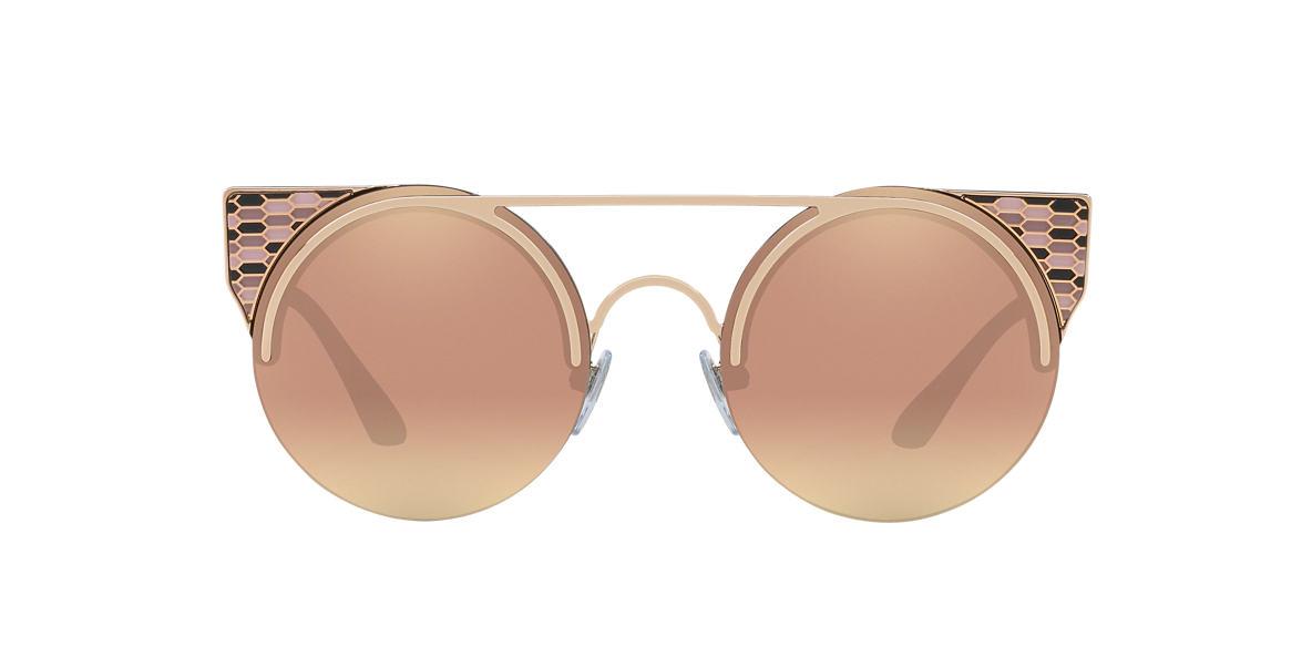 BVLGARI SUN Rose Gold BV6088 54 Pink lenses 54mm