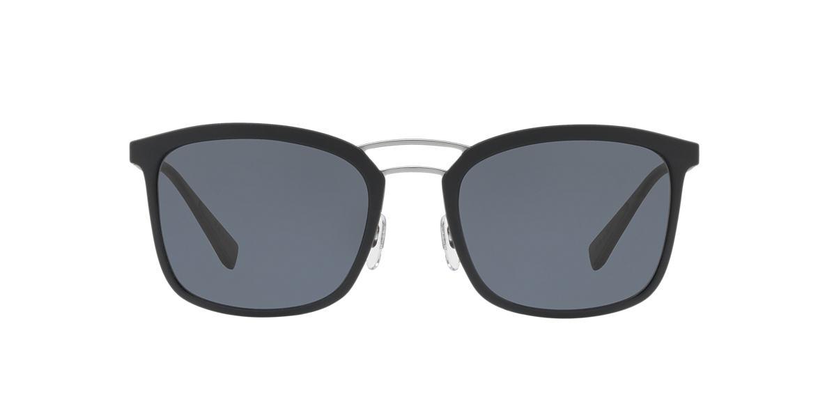 PRADA LINEA ROSSA Black PS 03SS Grey polarised lenses 56mm