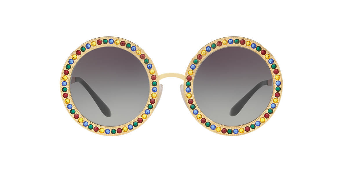 DOLCE and GABBANA Gold DG2170B 51 Grey lenses 51mm