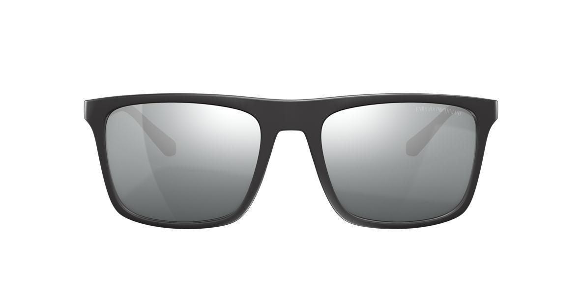 EMPORIO ARMANI Black EA4097 56 Grey polarised lenses 56mm