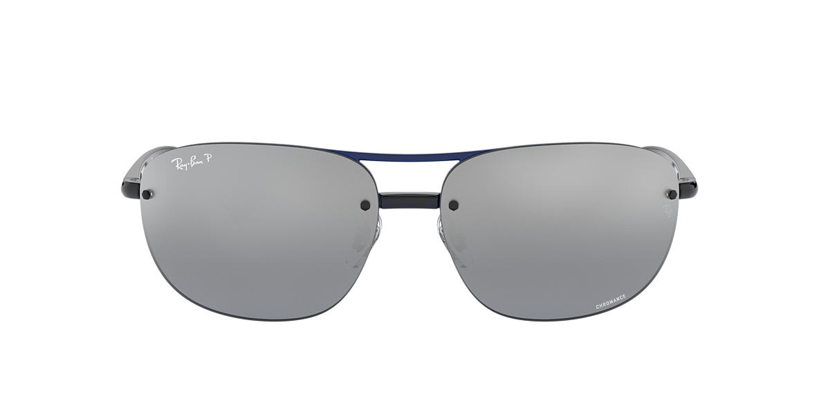 RAY-BAN Blue RB4275CH 63 Silver polarized lenses 63mm