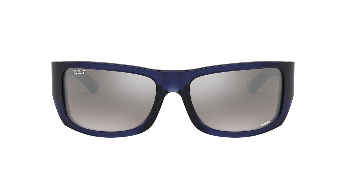 RAY-BAN Blue RB4283CH Grey polarised lenses 64mm