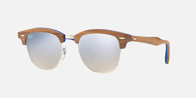 RB3016M 51 CLUBMASTER WOOD