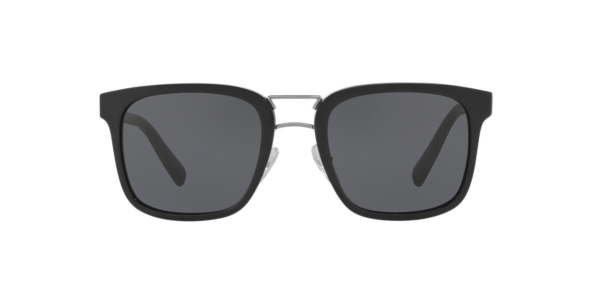 PRADA Black PR 14TS Grey lenses 53mm