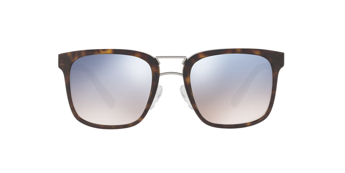 PRADA Brown PR 14TS 53 Blue lenses 53mm