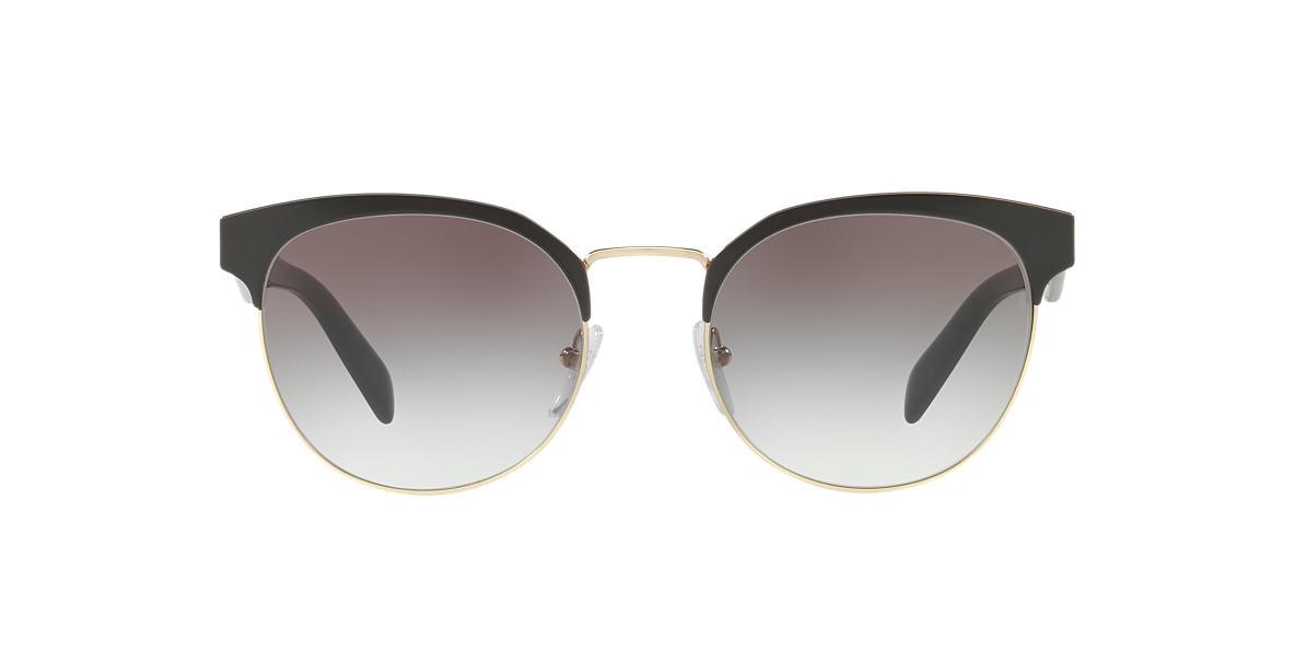 PRADA Black PR 61TS 54 Grey lenses 54mm