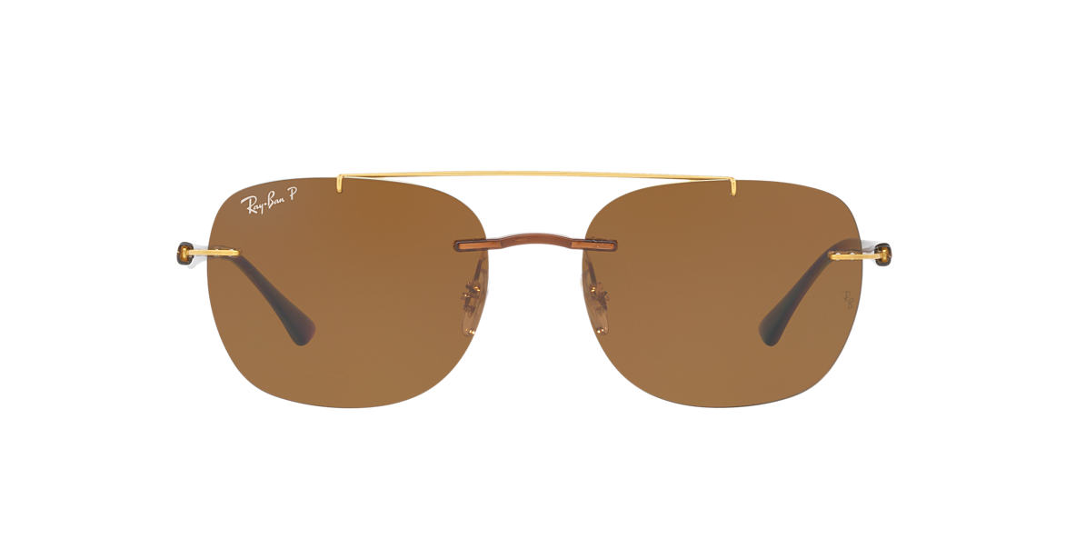 RAY-BAN Brown RB4280 55 Brown polarized lenses 55mm