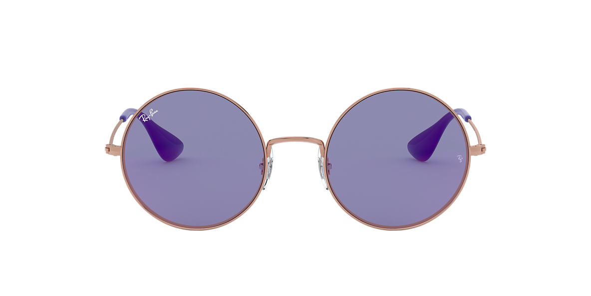 RAY-BAN Bronze RB3592 55 Purple lenses 55mm