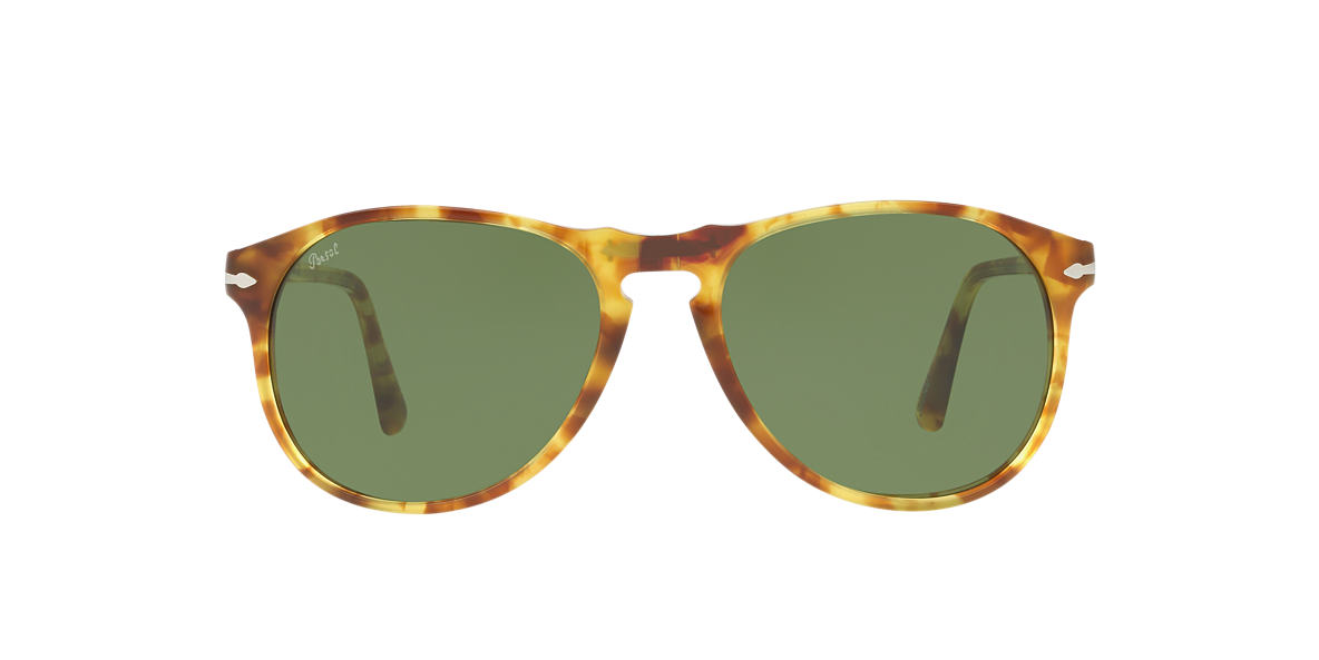 PERSOL Yellow PO6649S 55 Green lenses 55mm