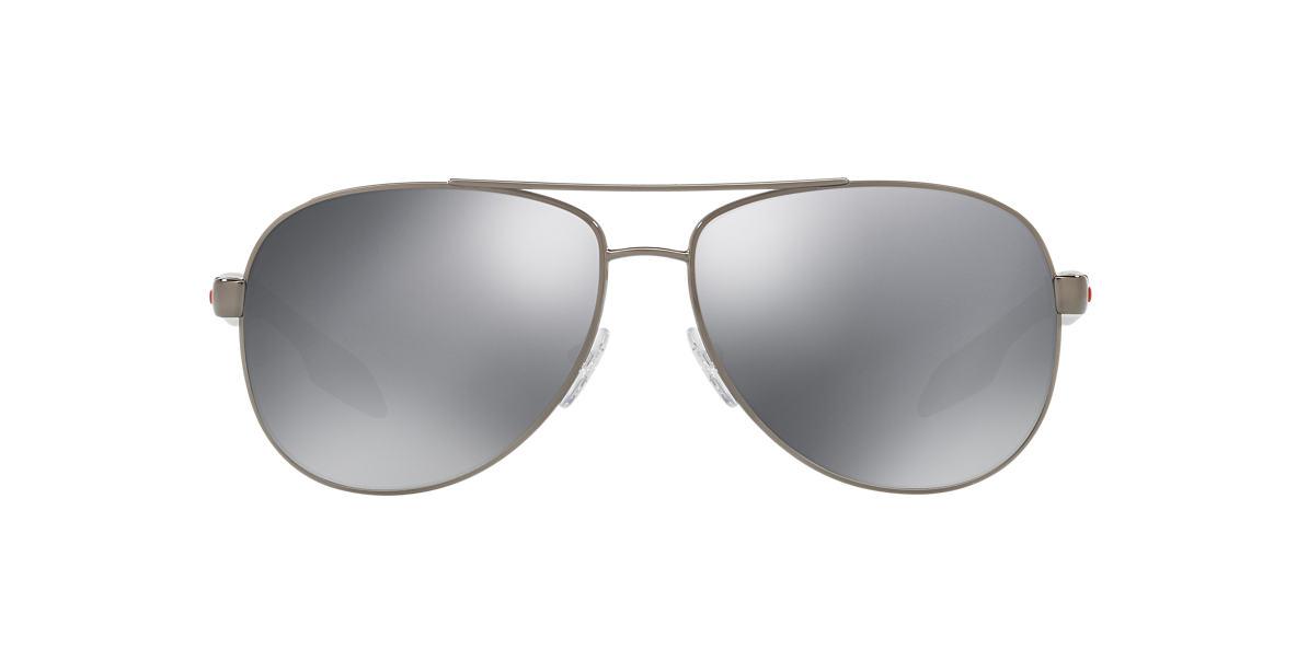 1b6b450f26 Prada Linea Rossa PS 53PS 62 Black   Gunmetal Sunglasses
