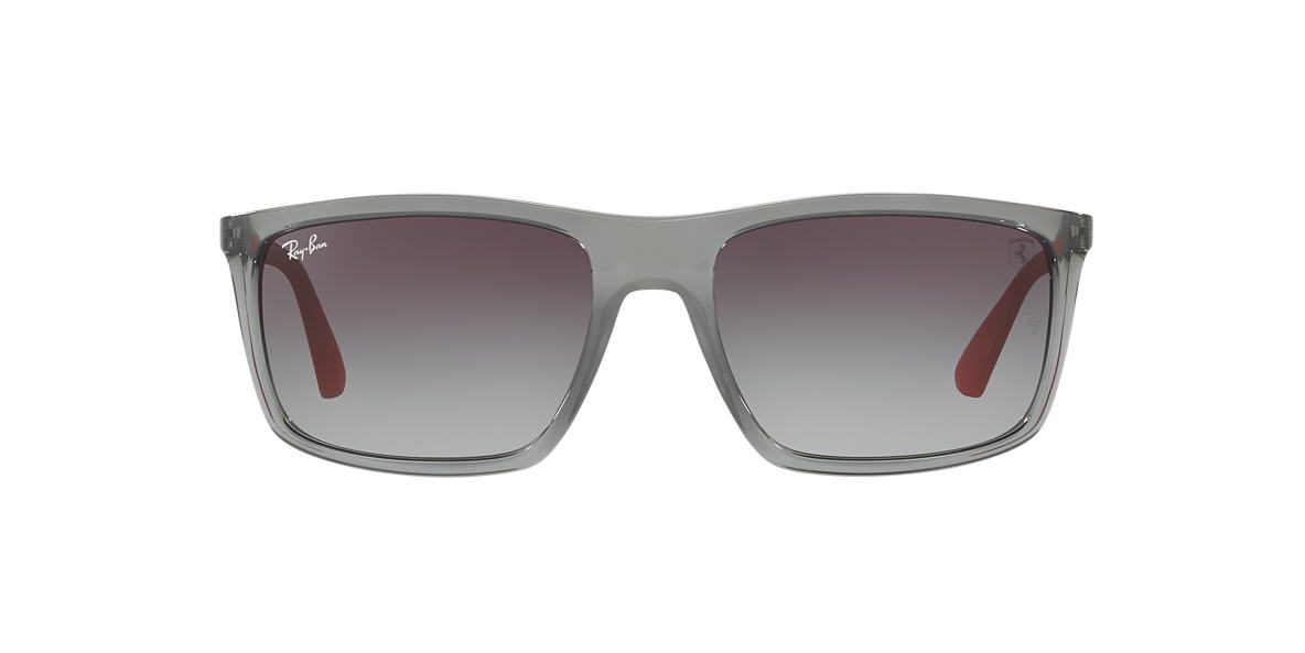 ray ban rb4228m scuderia ferrari 58 grey grey sunglasses. Black Bedroom Furniture Sets. Home Design Ideas