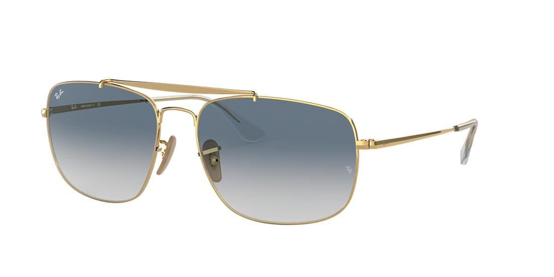 bd2a1f0f0c9 Ray-Ban Rb3560 Gold Square Sunglasses