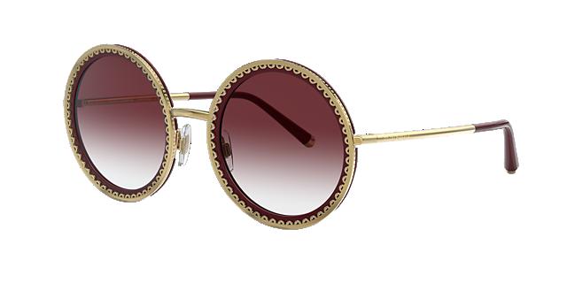afa6eaa98 O luxo dos óculos escuros Dolce e Gabanna Sunglass Hut